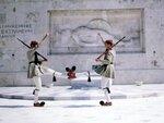 Смена караула национальной гвардии Греции.