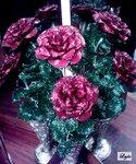 Бисероплетение схемы брелков - Меню объемные цветы из бисера - дракон.