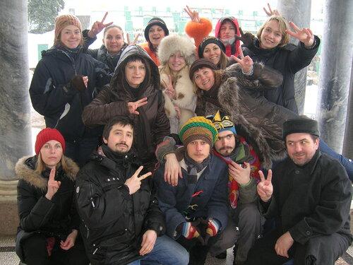 Участники семинара Инны Нефедовской в Питере