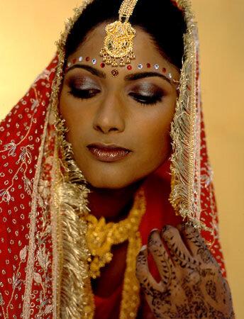 Украшения и макияж ведические  (индийские)