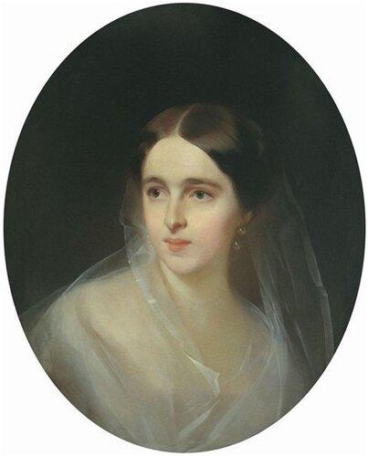 И.К. Макаров. Наталья Николаевна Ланская 1849 г.