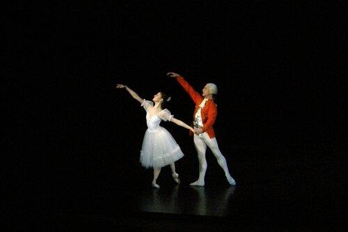 "Балет ""Щелкунчик"". Мария Кузьмина и Максим Гришенков."