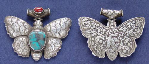 тибетский талисман бабочка