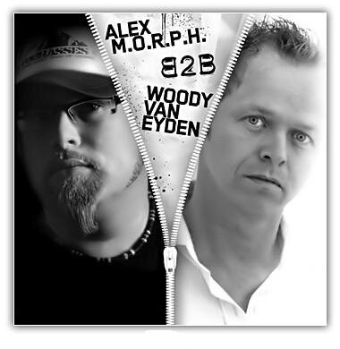 Alex M.O.R.P.H. B2B Woody van Eyden, Neil Moore - HeavensGate 131 on Party107 (02-05-09)