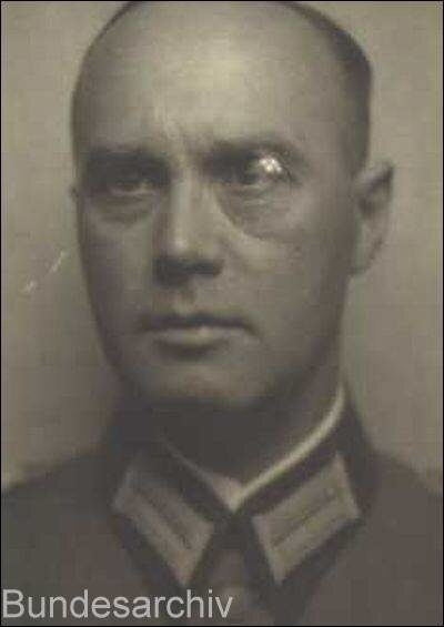 Генерал-лейтенант Отто Вилл, командующий железнодорожными войсками