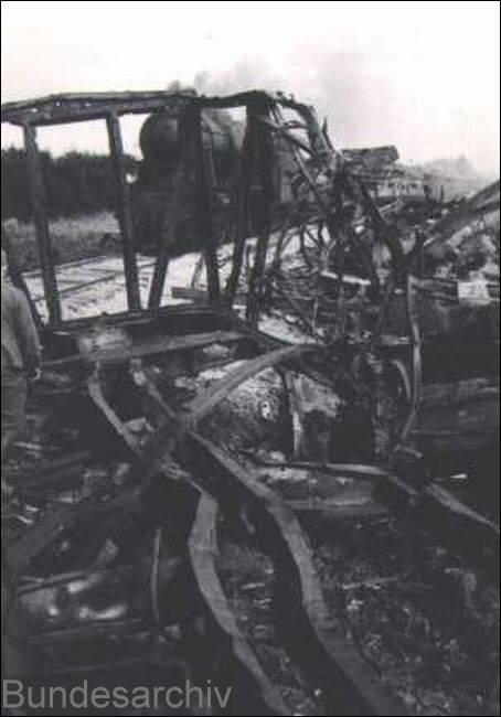 Уничтоженный советскими ВВС состав, август 1941