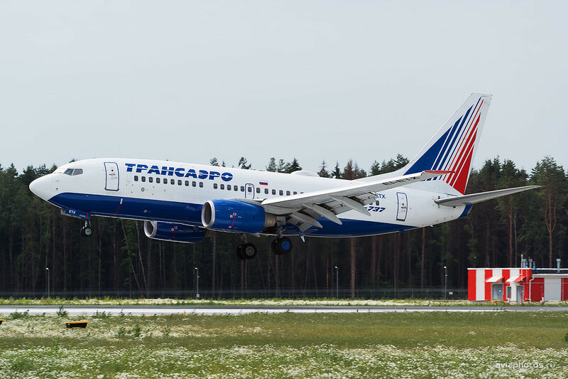 Boeing 737-7Q8 (EI-ETX) Трансаэро D806289