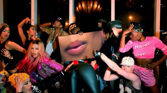 Видеоклип:  Мадонна и Ники Минаж   Bitch I'm Madonna