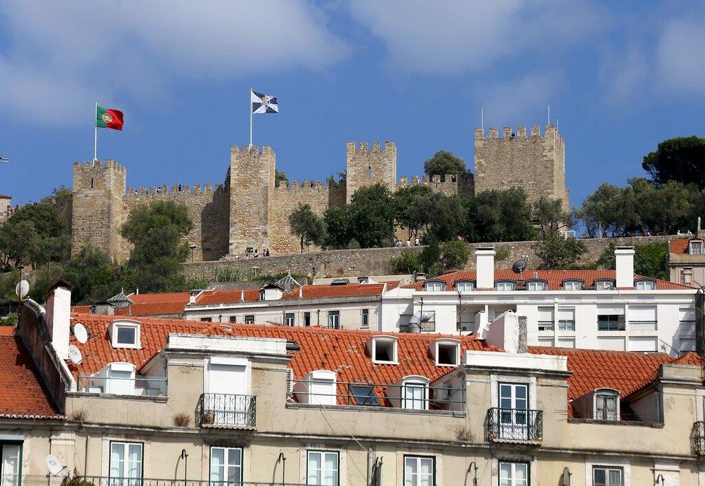 Лиссабон. Замок Святого Георгия