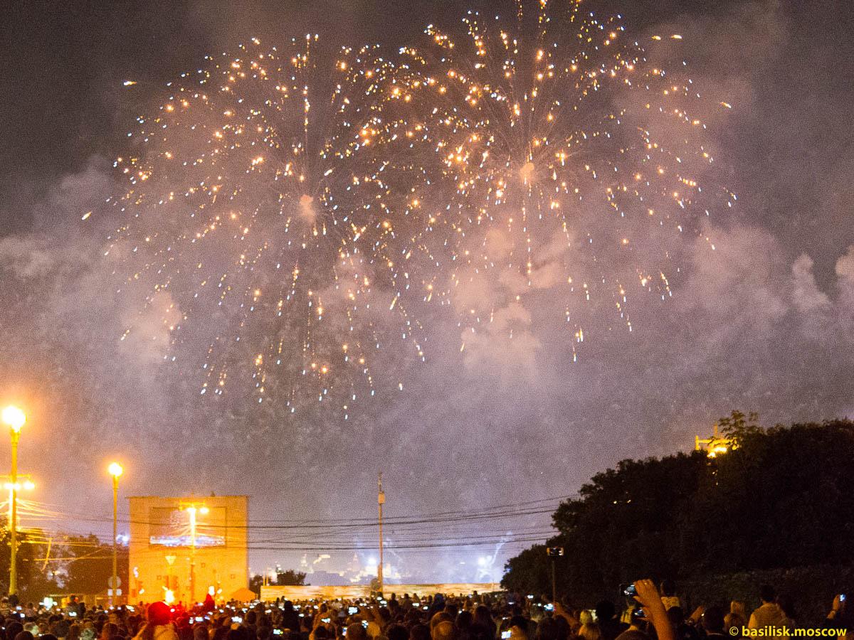 Московский фестиваль фейерверков. 2015.