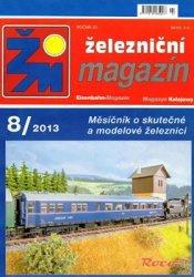 Журнал Zeleznicni magazin 2013-08