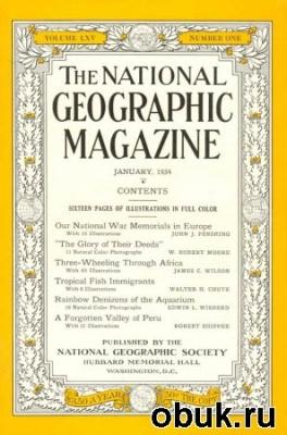 Книга National Geographic, USA, 1934, годовая подшивка