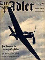 Книга Der ADLER 2a № 23 января 1940