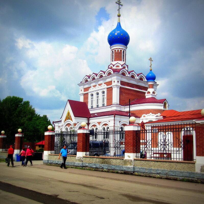 Храм в честь иконы Божией Матери «Утоли моя печали».