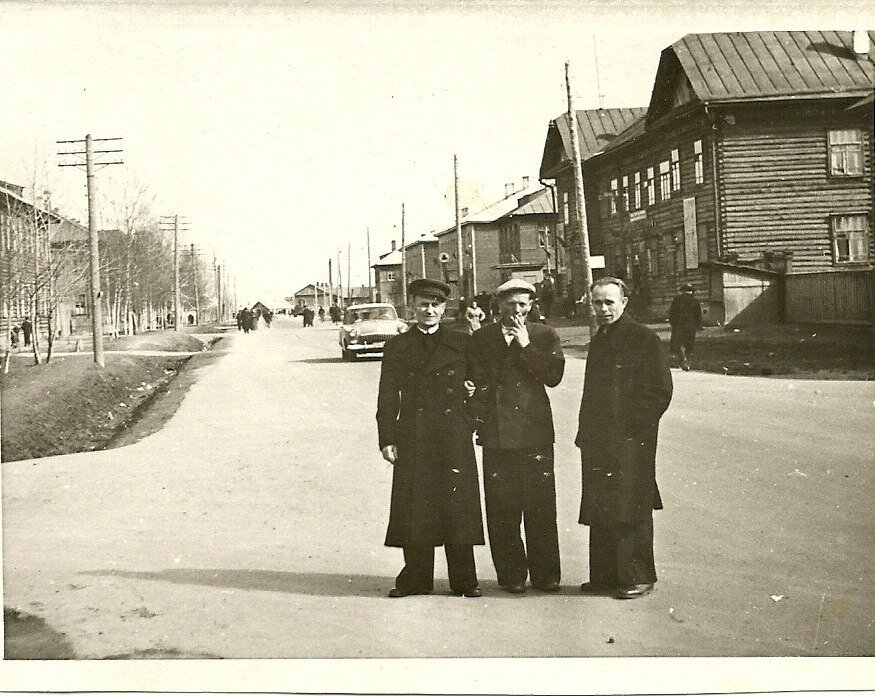 1950-е. Улица Карла Маркса