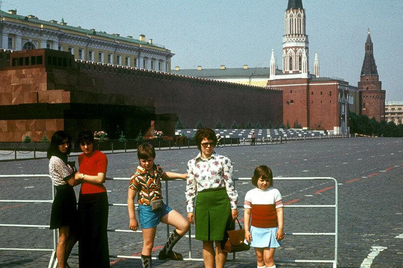23. Наша семья на Красной площади