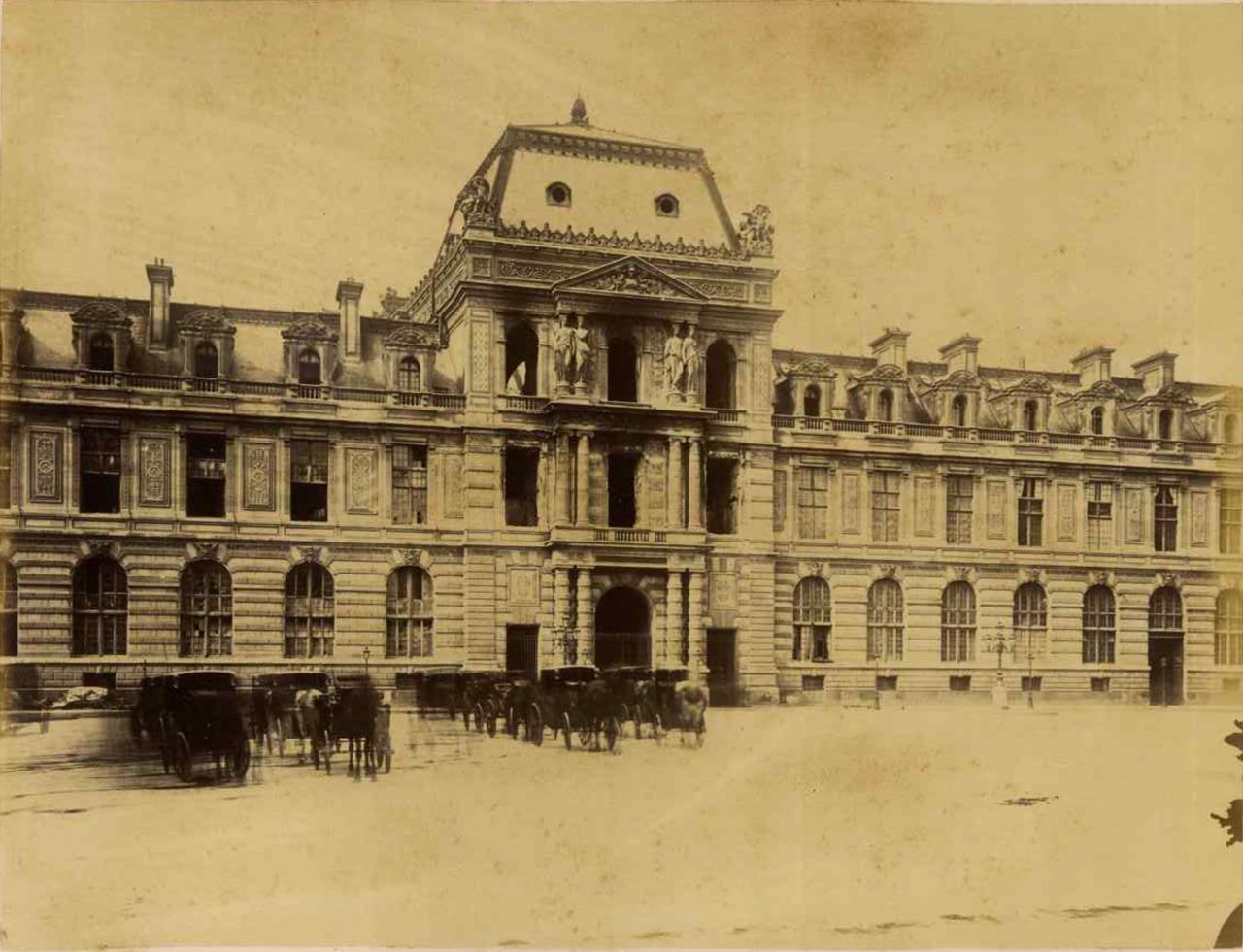 Библиотека Лувра