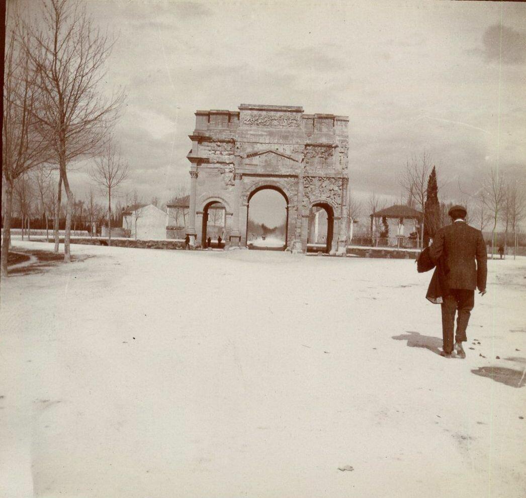 Триумфальная арка.  1907