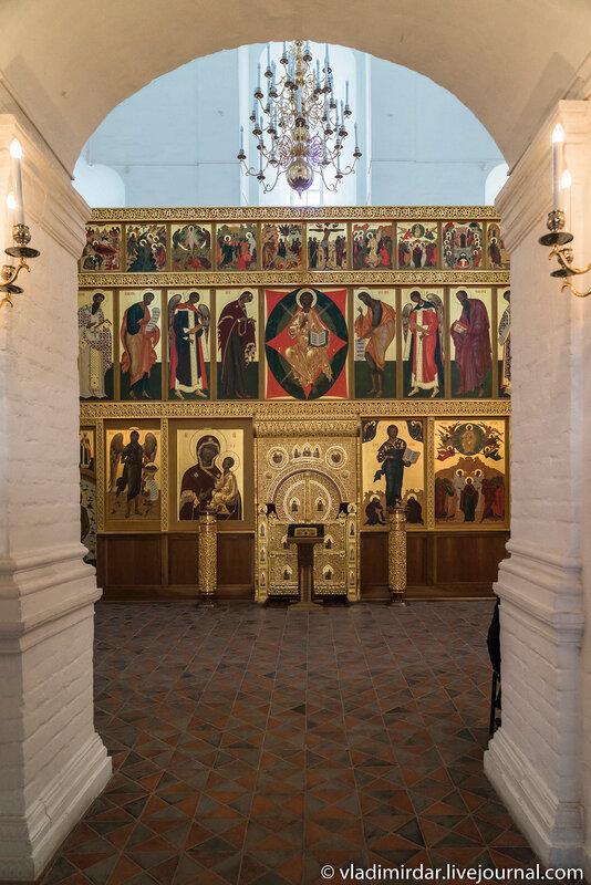 Полртал основного объема Храма Вознесения Господня в Коломенском