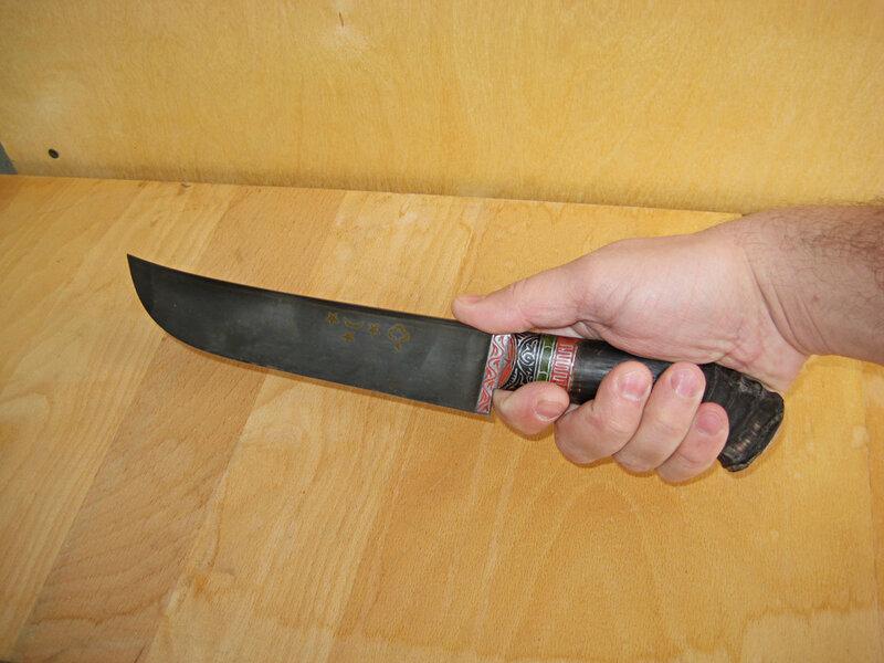 Как сделать нож в домашних условиях в фото