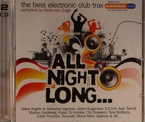 All Night Long: The Best Electronic Club Trax (2CD) 2009