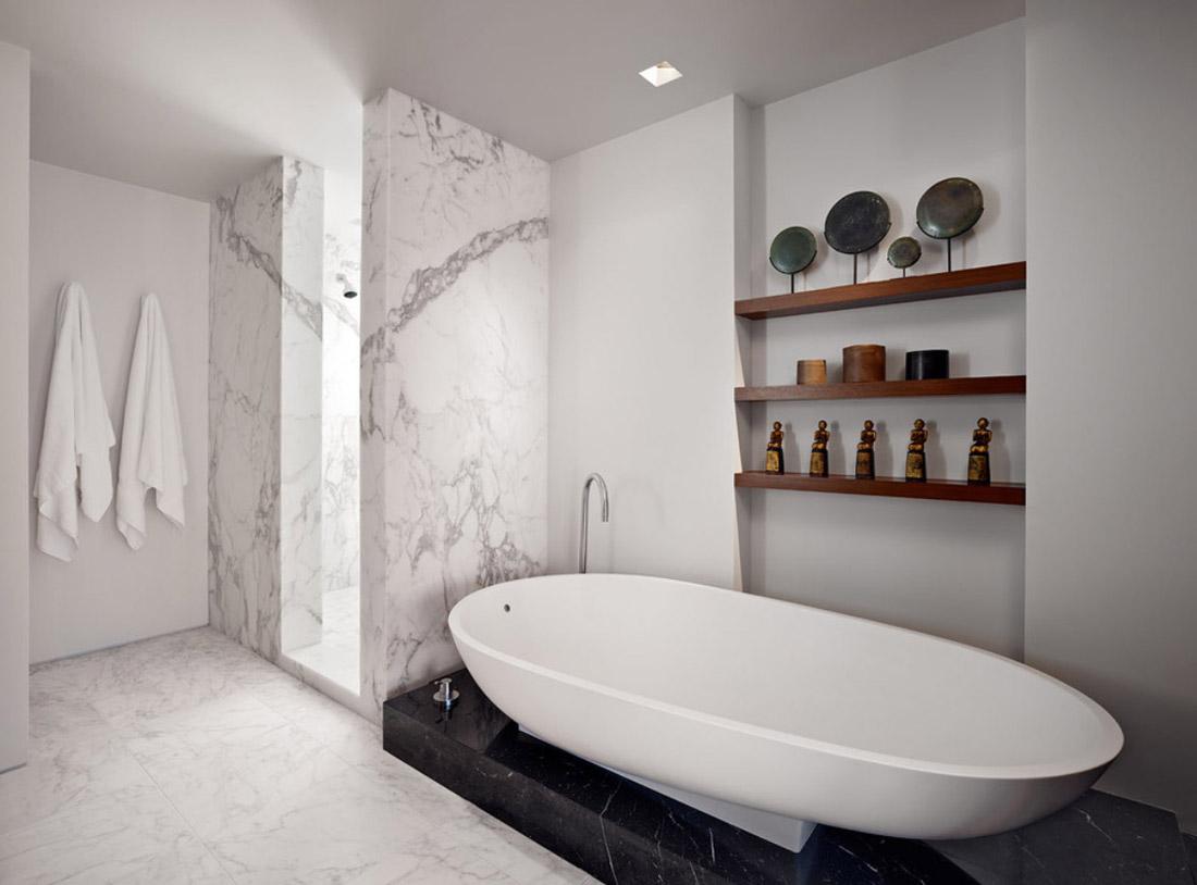 Styling a bathroom
