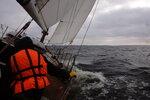 Яхтинг в Финском заливе. Октябрь 2014