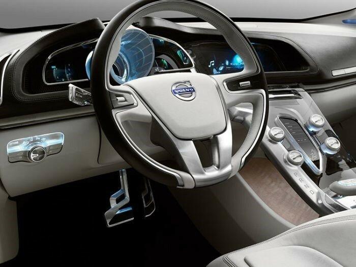 Красивые дорогие автомобили изнутри