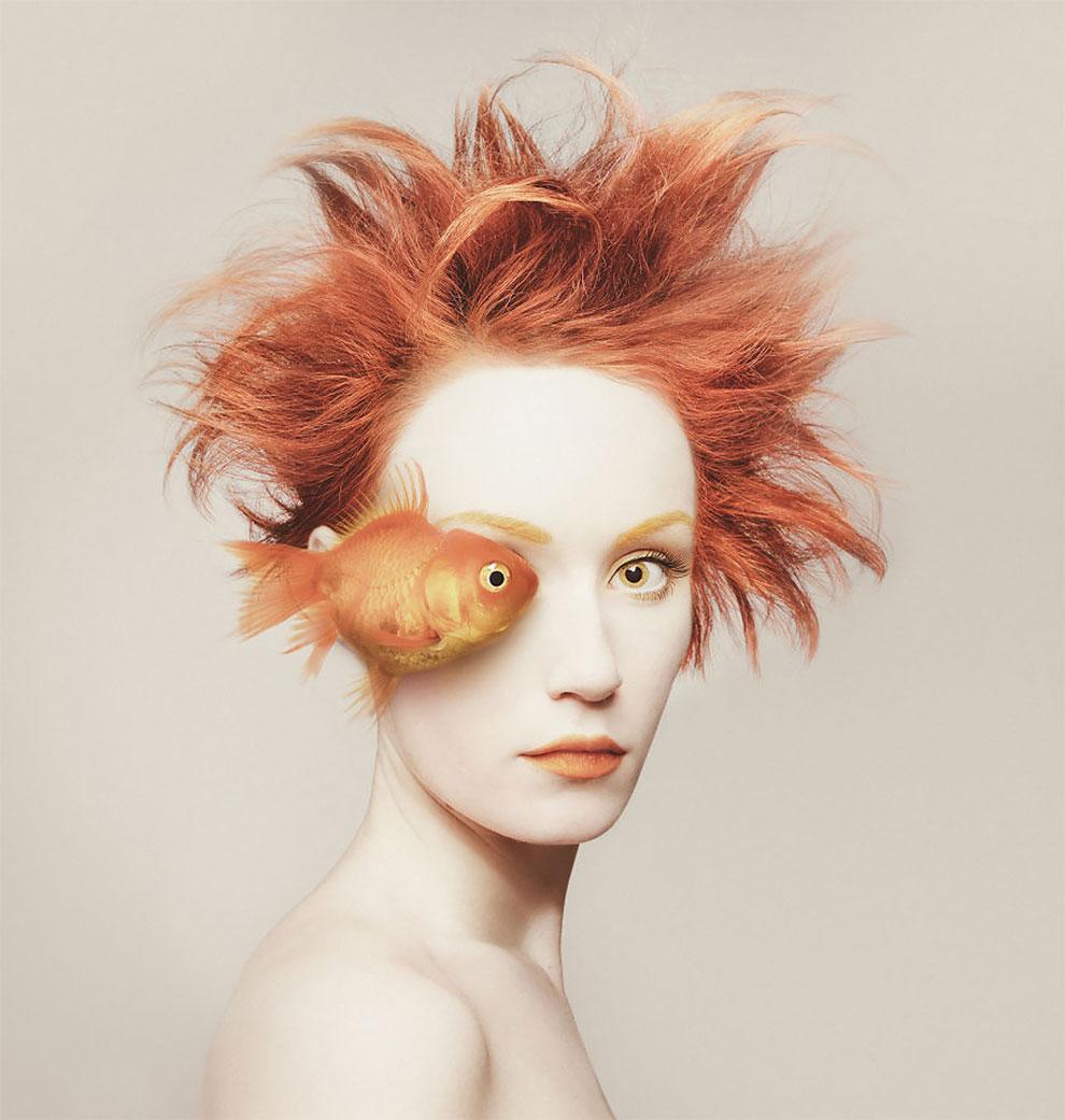 Своим мистическим проектом молодая талантливая фотохудожница хотела показать, как много общего между