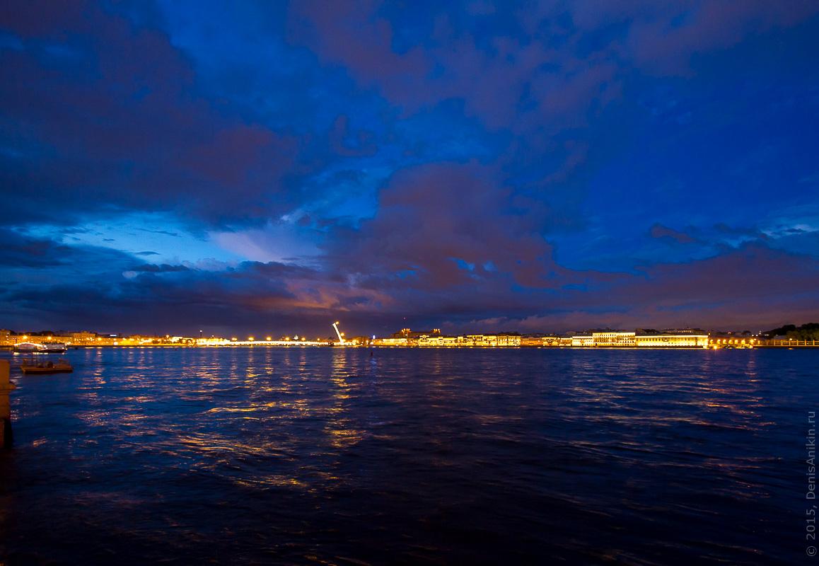 Санкт-Петербург развод мостов 14