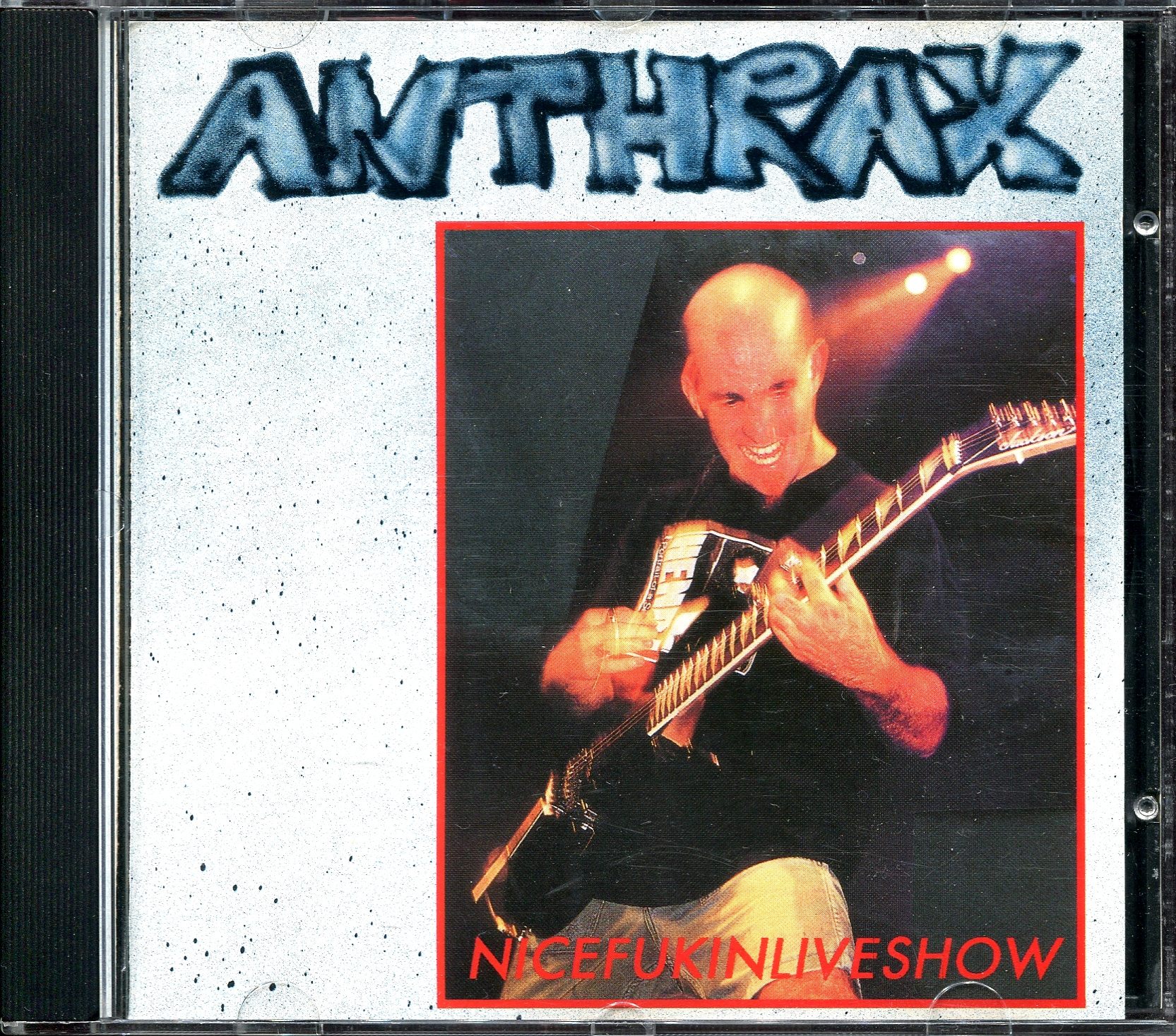 Anthrax - 1989 - Nicefukinliveshow (Germany Main Event Records ME - CD - 018) [lossless]