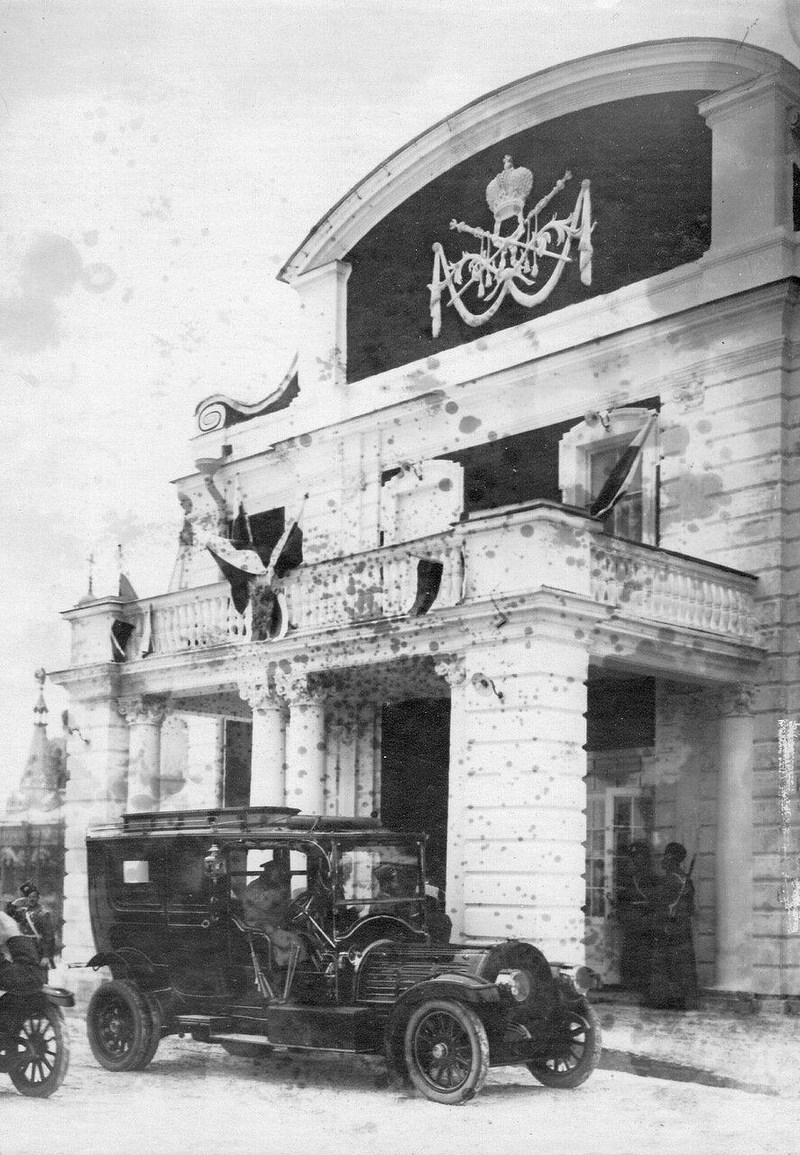 08. Приезд императора Николая II на открытие офицерского собрания Собственного Его Императорского Величества Конвоя
