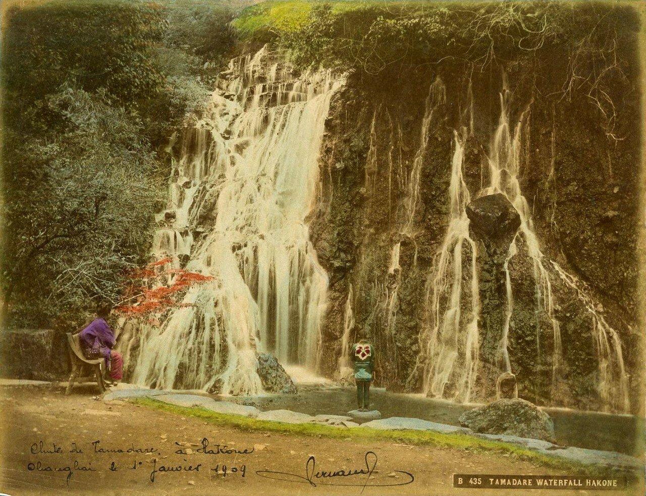 Хаконэ. Водопад Тамадаре