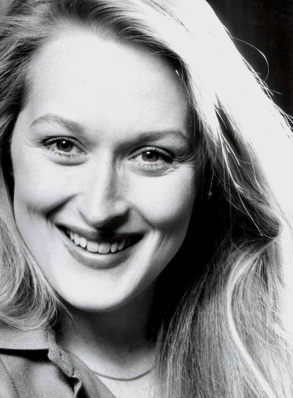Portrait Of Actress Meryl Streep.
