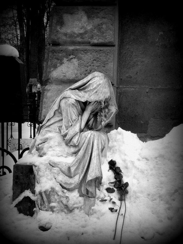 фото статуи ангелы