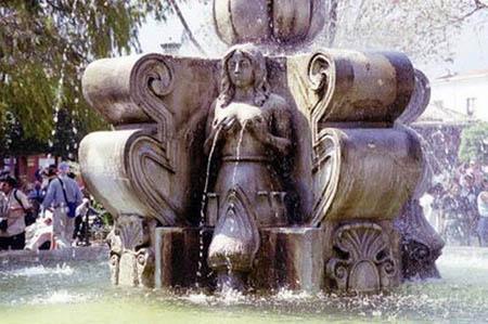 Сексуальные фонтаны
