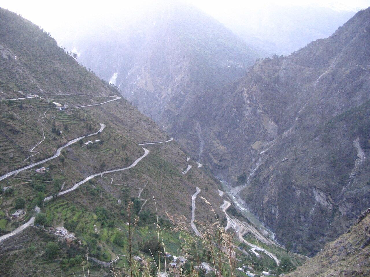 Гималаи, верховье Ганги
