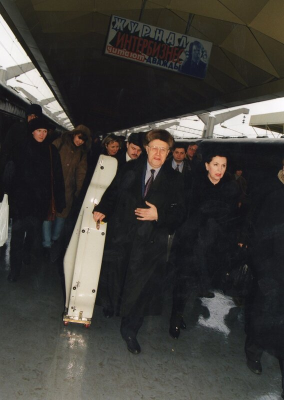 Встреча на вокзале. Фото Натальи Логиновой