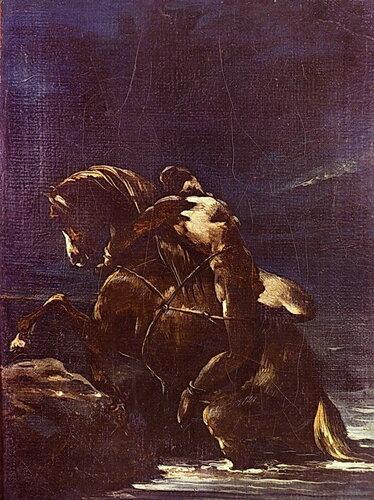 Смерть Мазепы, Жан-Луи Жерико