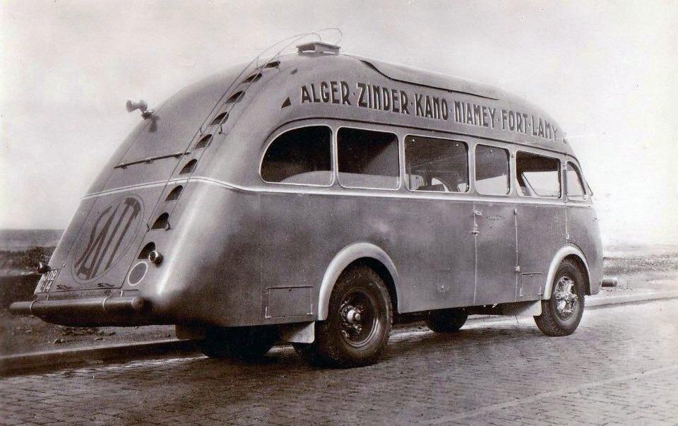 Algérie - Ligne du Hoggar Alger Zinder Niamey Fort-Lamy - Car Pullman 1937.jpg
