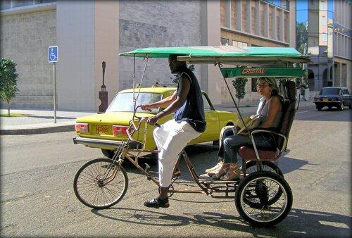Велотаксист