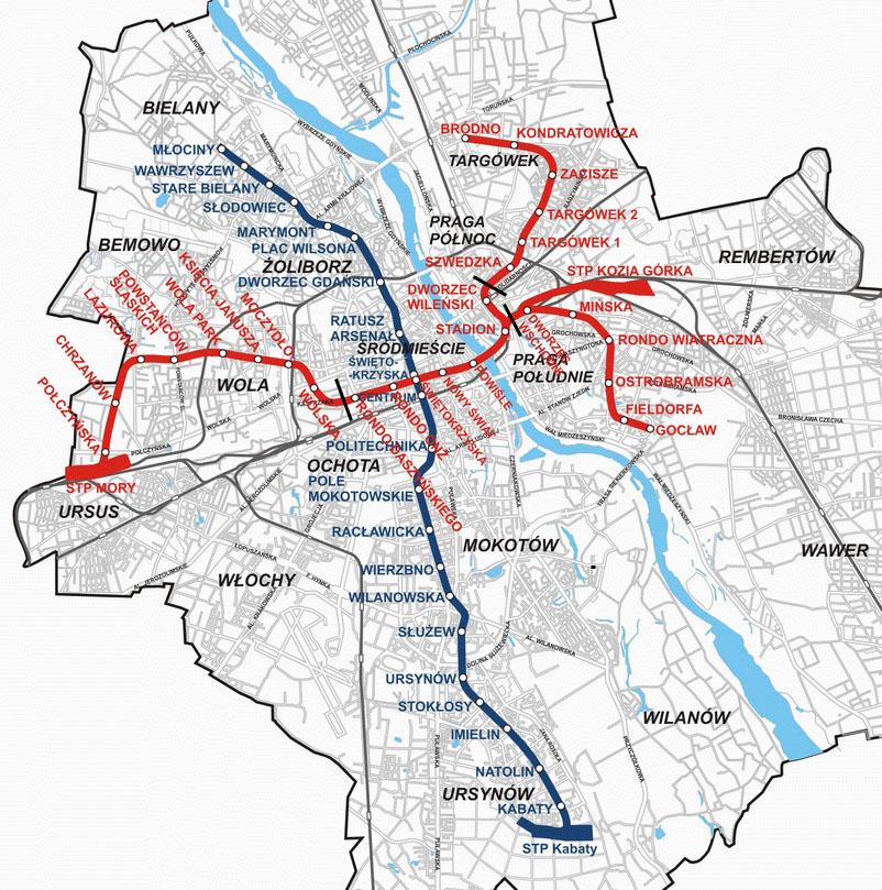 2-ю ветку метро Варшавы