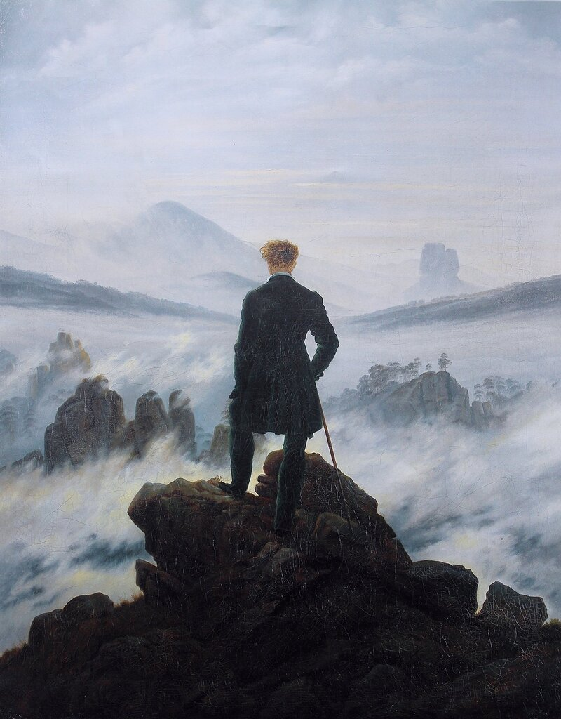 The Wanderer above the Mists (1817-1818) Kunsthalle, Hamburg (2).jpg