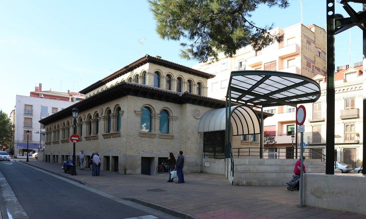 Сарагоса. Театро дель Меркадо (Teatro del Mercado)