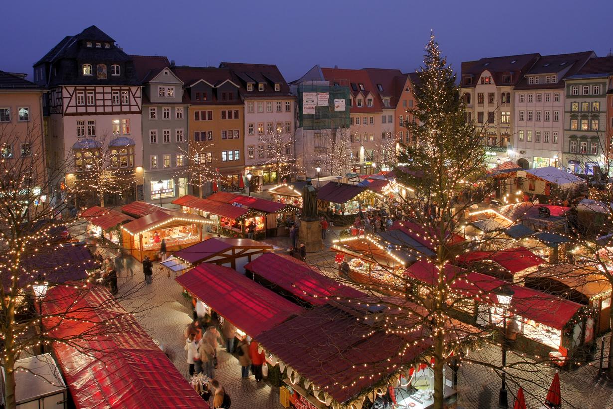 Волшебство в Германии. Рождественские ярмарки (21 фото)