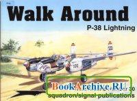 Книга Squadron/Signal Publications 5530: P-38 Lightning - Walk Around Number 30
