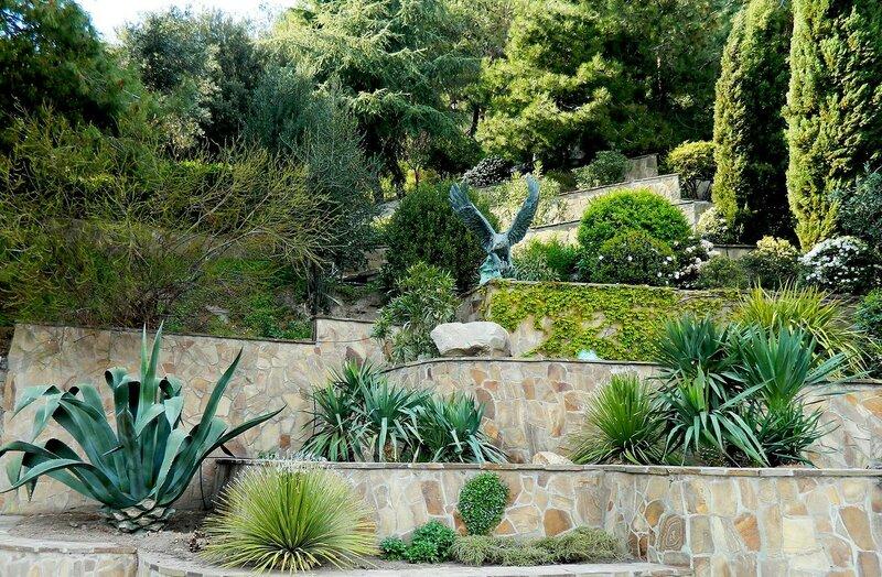 Террасные сады парка!
