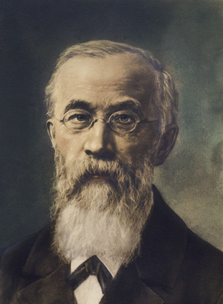 Wilhelm Wundt / Gemaelde nach Fotografie - Wilhelm Wundt / Painting after photo -