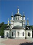 Крым, Форос, церковь на Красной скале Воскресения Христова