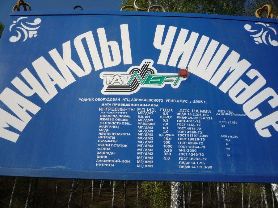 Родники и источники Азнакаевского района